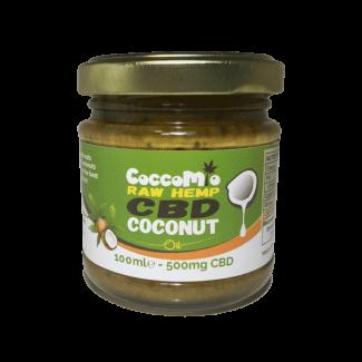 CoccoMio CBD Coconut Oil 500mg Jars