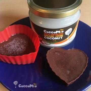 CoccoMio Chocolate Liquorice and Coconut Bark Recipe Square