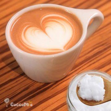 CoccoMio Coconut Oil Bullet Coffee Recipe