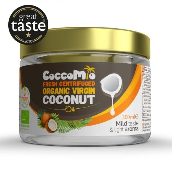 CoccoMio Fresh Centrifuged Organic Virgin Coconut Oil 300ml
