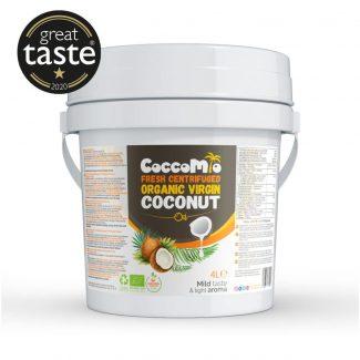 CoccoMio Fresh Centrifuged Organic Virgin Coconut Oil 4L