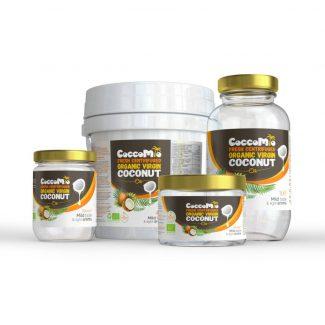 CoccoMio Fresh Centrifuged Organic Virgin Coconut Oil Products