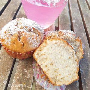 CoccoMio Liquorice Lemon Blueberry Yogurt Muffin