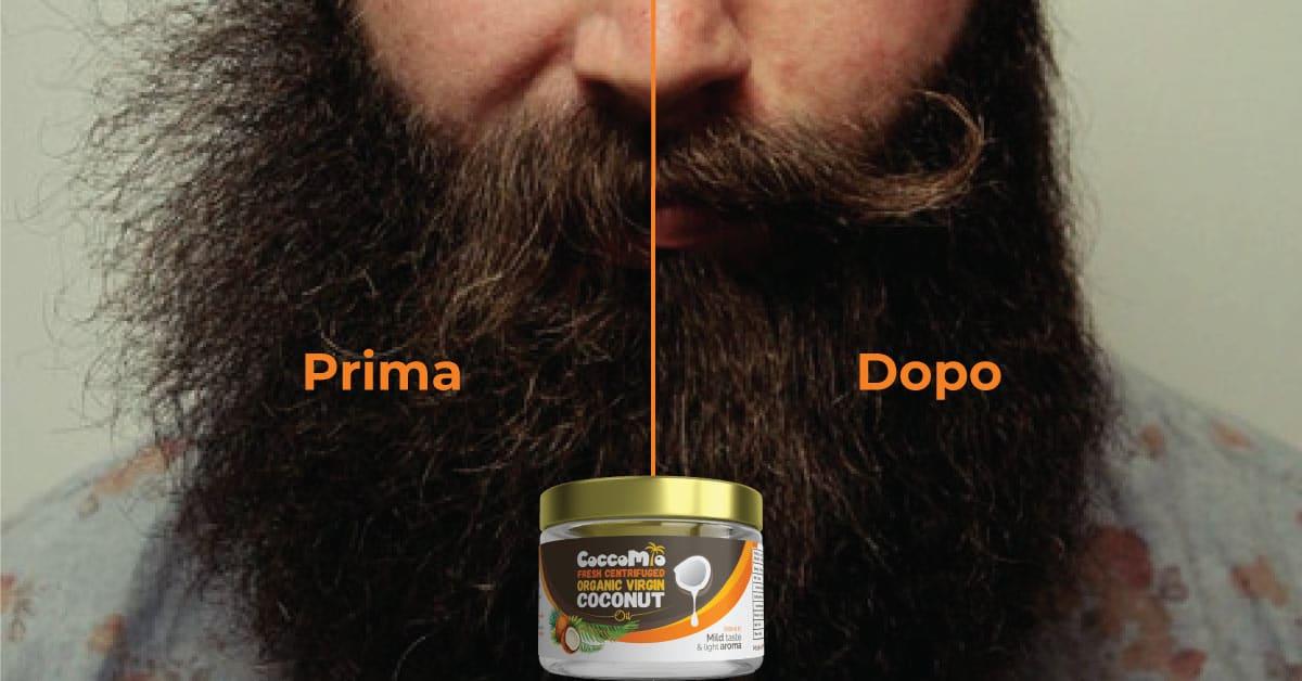 CoccoMio Olio di Cocco Barba Uomini
