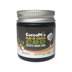 CoccoMio Olio di Cocco CBD Estratto Crudo 300mg