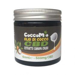 Olio di Cocco CBD Estratto Canapa Crudo - 600mg