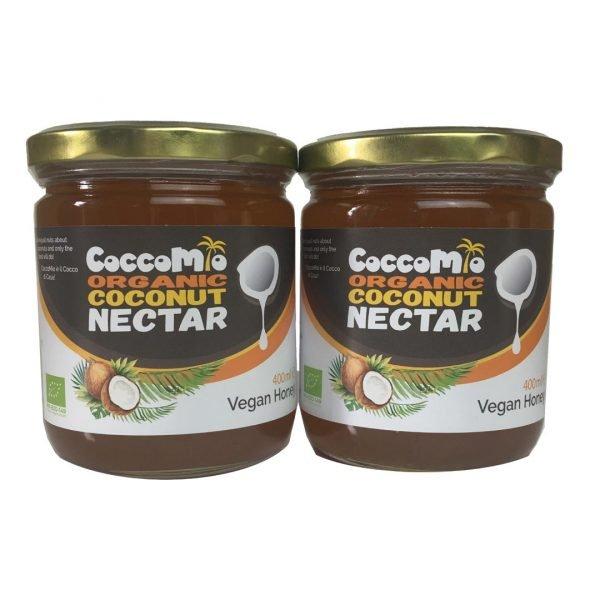 CoccoMio Organic Coconut Nectar 400ml Jars