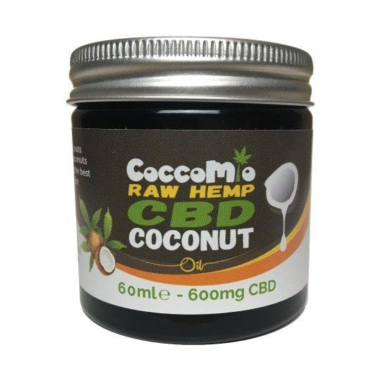 CoccoMio Raw Hemp CBD Coconut Oil 600mg