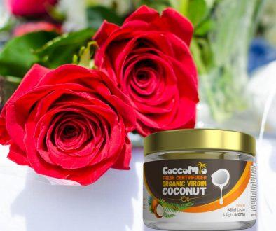 CoccoMio Rose Water Coconut Oil