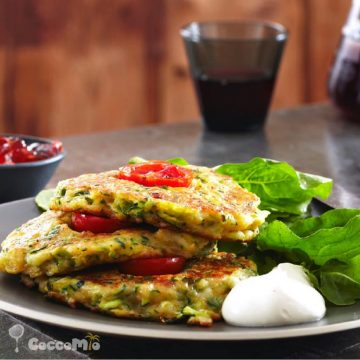 CoccoMio Scrambled Vegies Recipe