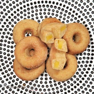 CoccoMio Vegan Apple Doughnut Fritters Recipe