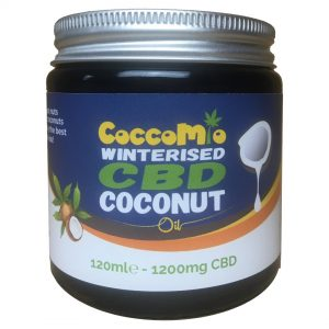 CoccoMio Winterised CBD Coconut Oil 1200mg Jars