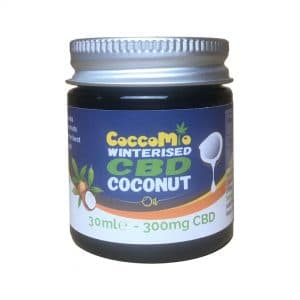 CoccoMio Winterised CBD Coconut Oil 300mg