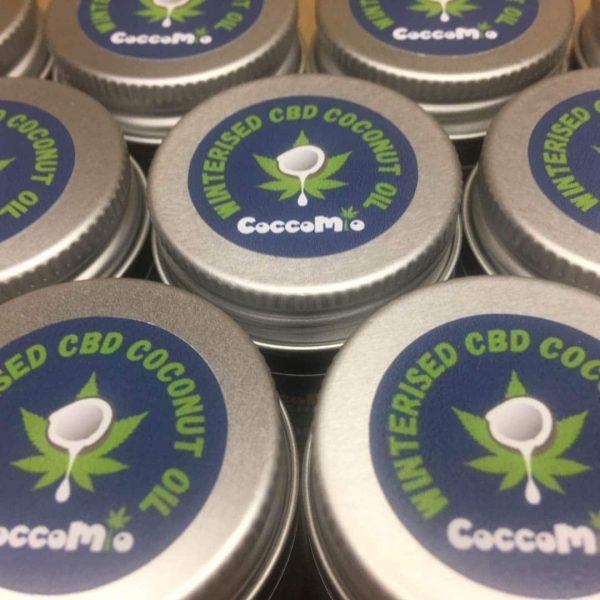 CoccoMio Winterised CBD Coconut Oil Lids