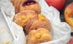 CoccoMio Vegan Doughnuts filled with Apple and Maple Caramel Recipe
